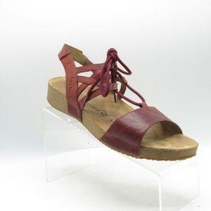 Josef Seibel Tonga Size 10.5 M/EU 41 Red B2 C29